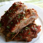 BBQ Red Pepper Jelly Spareribs