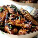 3 Ingredient Honey Soy Grilled Wings